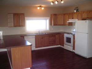 Kitchen in apartment for rent in Black Diamond, Alberta