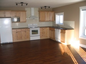Kitchen in apartment for rent