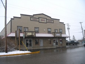 Candle Shoppe Building in Black Diamond, Alberta