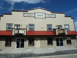 Candle Shoppe Front - residential and commercial rentals