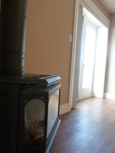 One bedroom - gas stove